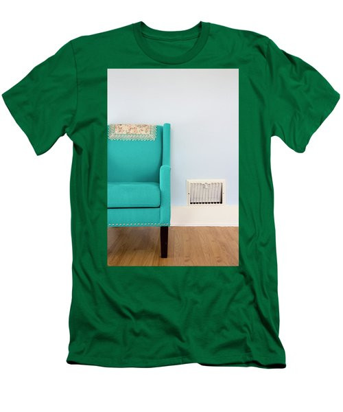 The Blue Chair Men's T-Shirt (Athletic Fit)