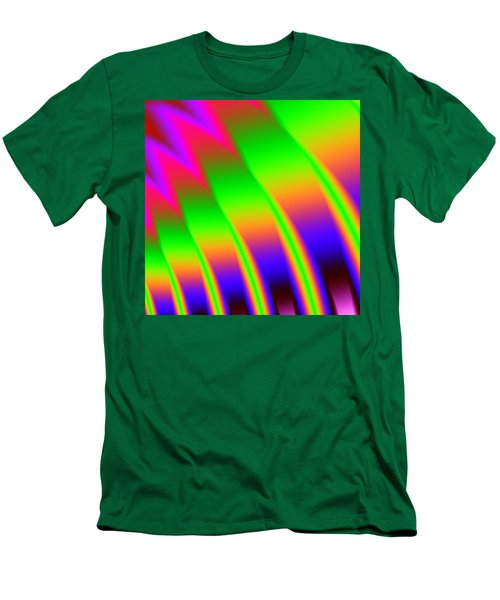 Men's T-Shirt (Slim Fit) featuring the digital art 110 In The Shade by Kevin Caudill