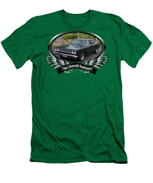 1968 Plymouth Roadrunner Davie Men's T-Shirt (Athletic Fit)
