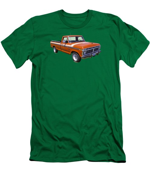 1975 Ford F100 Explorer Pickup Truck Men's T-Shirt (Athletic Fit)