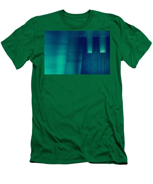 Acoustic Wall Men's T-Shirt (Slim Fit) by Bobby Villapando