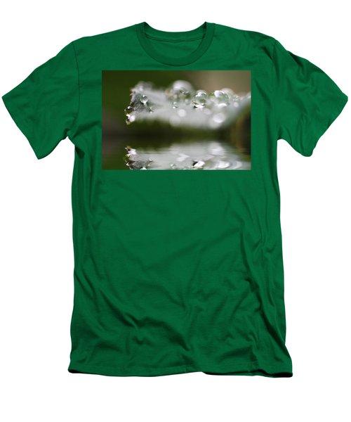 Afternoon Raindrops Men's T-Shirt (Slim Fit)