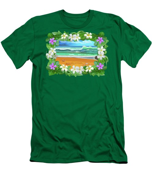Aloha Hawaii Men's T-Shirt (Athletic Fit)