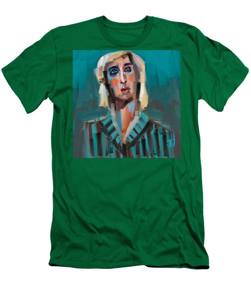 Men's T-Shirt (Athletic Fit) featuring the digital art Anthony by Jim Vance