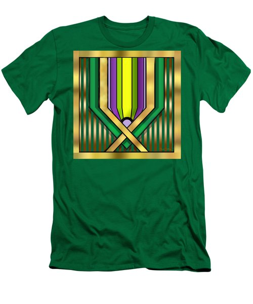 Art Deco 14 A Transparent Men's T-Shirt (Slim Fit) by Chuck Staley