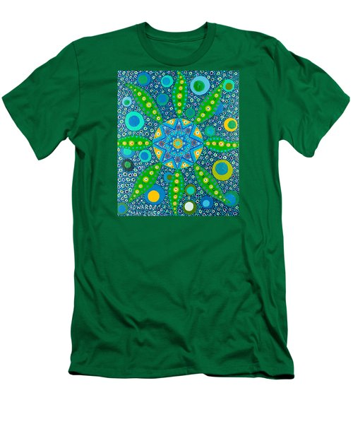Ayahuasca Vision - Inside The Plant Cell  May 2015 Men's T-Shirt (Athletic Fit)