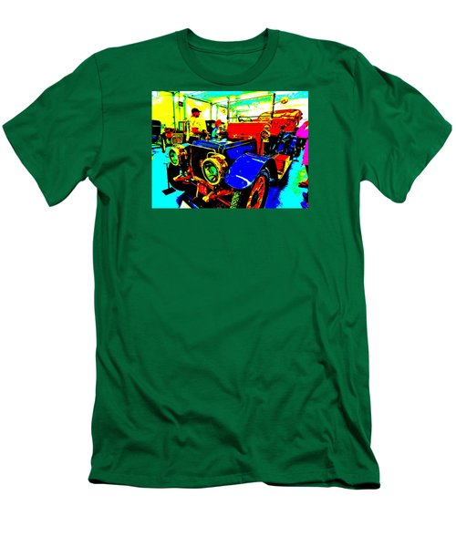 Bahre Car Show II 1 Men's T-Shirt (Slim Fit) by George Ramos