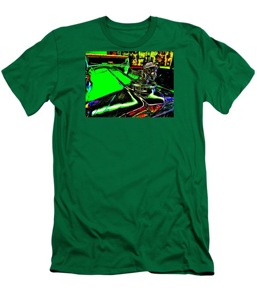 Bahre Car Show II 24 Men's T-Shirt (Slim Fit) by George Ramos