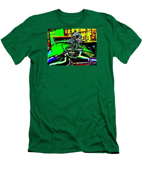 Bahre Car Show II 25 Men's T-Shirt (Slim Fit) by George Ramos