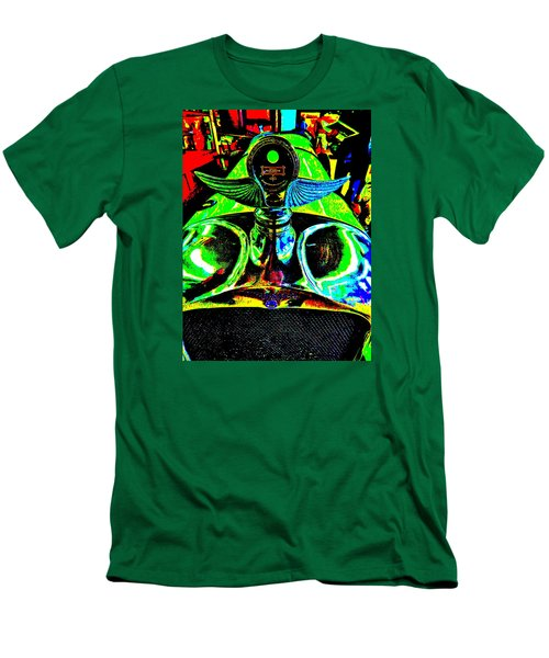 Bahre Car Show II 36 Men's T-Shirt (Slim Fit) by George Ramos