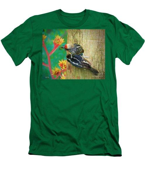 Barbet Nestlings Men's T-Shirt (Athletic Fit)