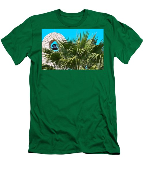 Men's T-Shirt (Slim Fit) featuring the photograph Bell by Ray Shrewsberry
