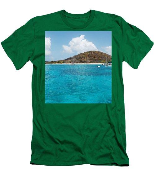 Buck Island Reef National Monument Men's T-Shirt (Slim Fit)