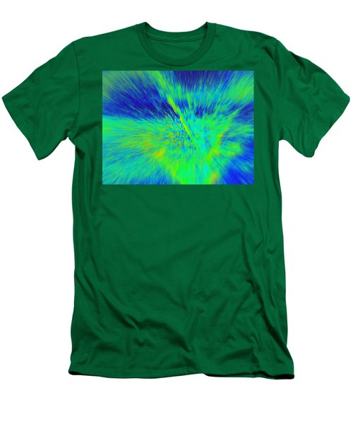 Men's T-Shirt (Slim Fit) featuring the photograph Bursting by Betty-Anne McDonald