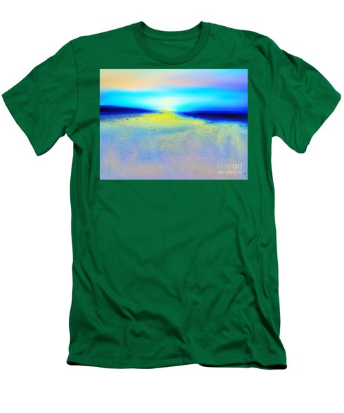 Chasing The Sun  Men's T-Shirt (Slim Fit) by Yul Olaivar