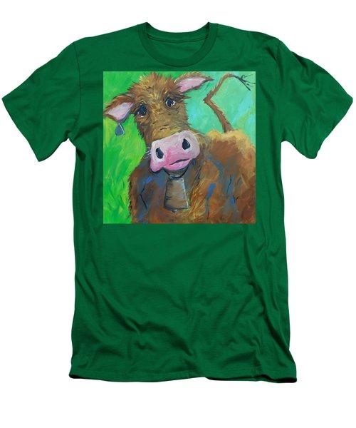 Chocolate Milk Men's T-Shirt (Slim Fit) by Terri Einer