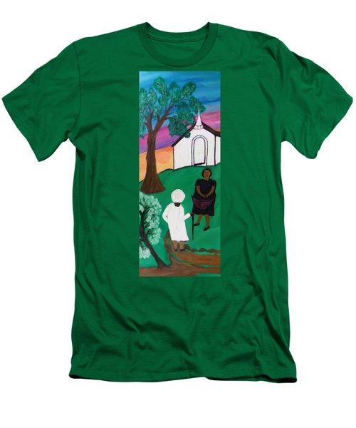 Church Ladies  Men's T-Shirt (Athletic Fit)