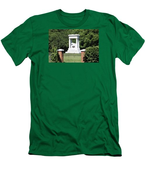 Confederate Memorial State Historic Park Men's T-Shirt (Athletic Fit)