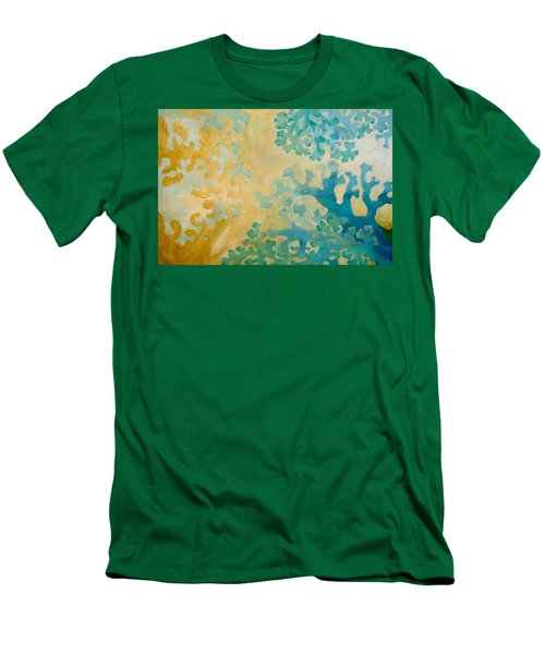 Cool Coral Men's T-Shirt (Athletic Fit)