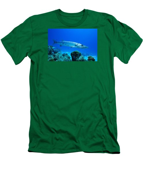 Shimmer  Men's T-Shirt (Slim Fit) by Aaron Whittemore