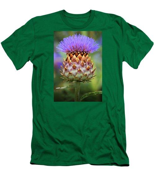 Cynara Cardunculus. Men's T-Shirt (Slim Fit) by Terence Davis
