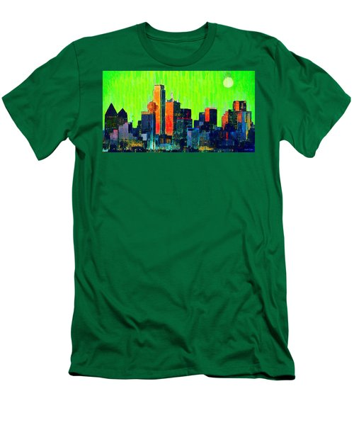 Dallas Skyline 73 - Pa Men's T-Shirt (Athletic Fit)