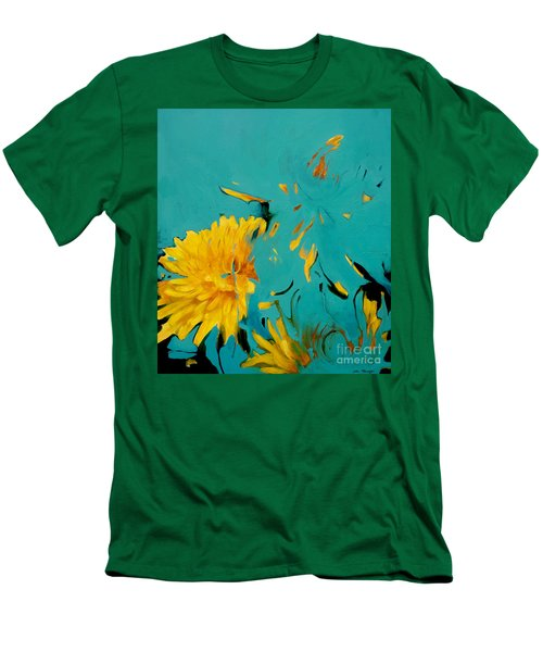 Dandelion Summer Men's T-Shirt (Athletic Fit)