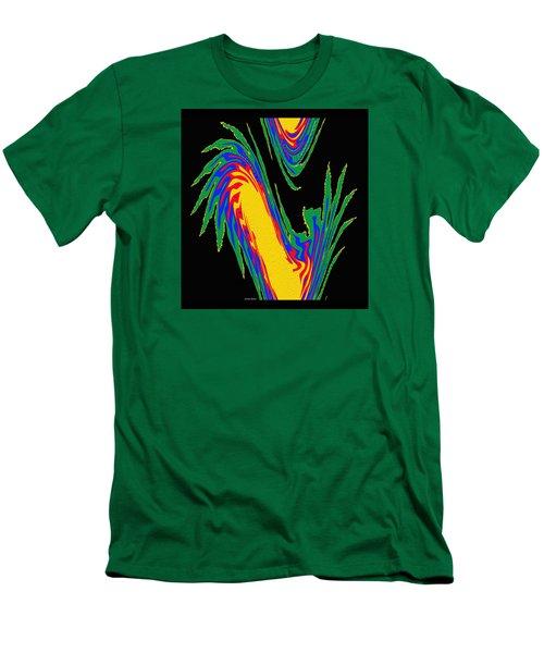 Men's T-Shirt (Slim Fit) featuring the photograph Digital Art 10 by Suhas Tavkar