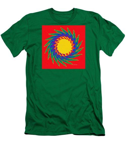 Digital Art 8 Men's T-Shirt (Athletic Fit)