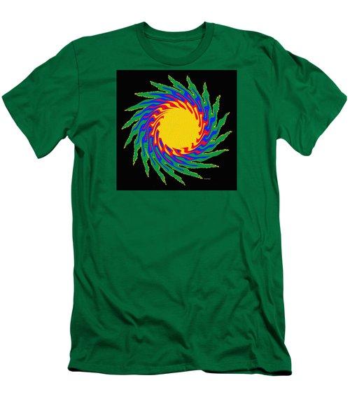 Digital Art 9 Men's T-Shirt (Athletic Fit)