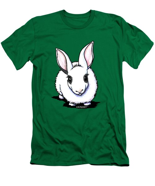 Dwarf Hotot Bunny Rabbit Men's T-Shirt (Slim Fit)