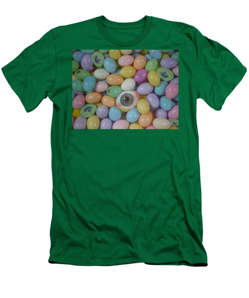 Men's T-Shirt (Slim Fit) featuring the mixed media Easter Eyes by Douglas Fromm