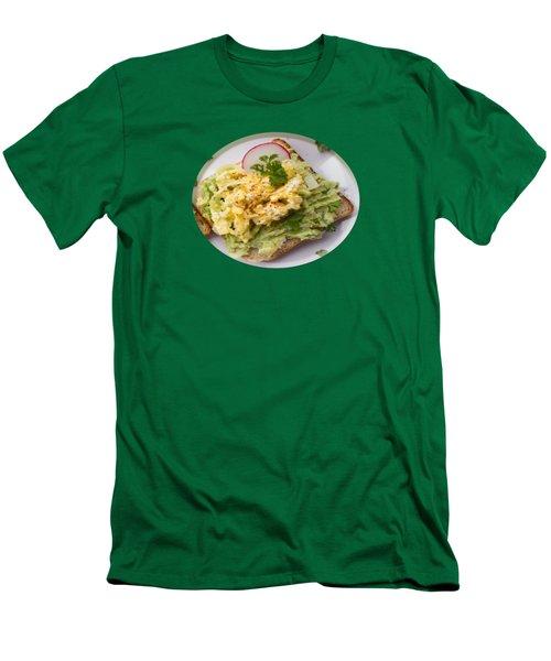 Egg Sandwich Men's T-Shirt (Slim Fit) by Mc Pherson