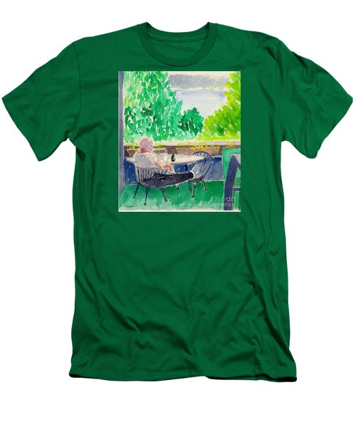 Enjoying The View-detail Men's T-Shirt (Athletic Fit)