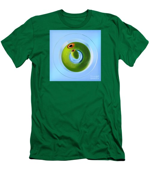 Men's T-Shirt (Slim Fit) featuring the photograph Olive Eye by Martin Konopacki