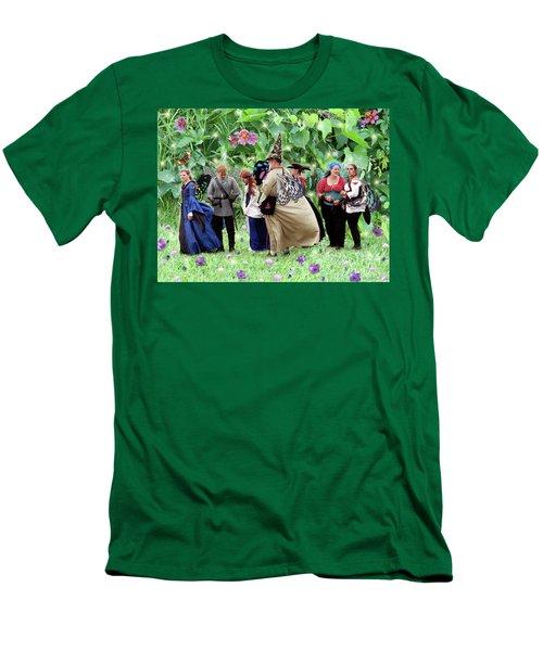 Fairy Queue Men's T-Shirt (Athletic Fit)
