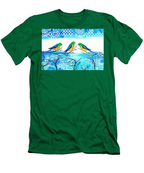 Family Time Men's T-Shirt (Slim Fit)