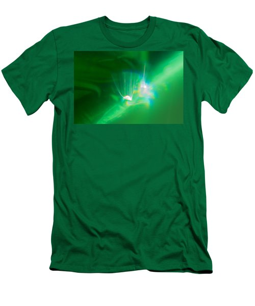 Men's T-Shirt (Athletic Fit) featuring the photograph Fibers by Greg Collins