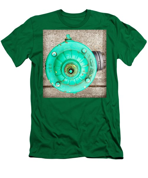 Fire Hydrant #6 Men's T-Shirt (Slim Fit) by Suzanne Lorenz