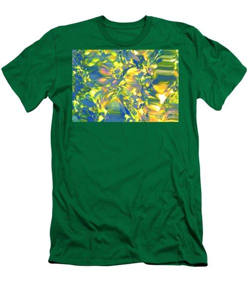 Fluttering Of Color Men's T-Shirt (Athletic Fit)