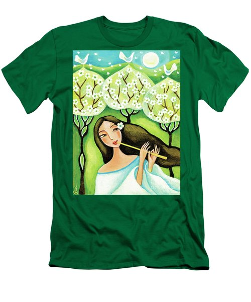 Forest Melody Men's T-Shirt (Athletic Fit)