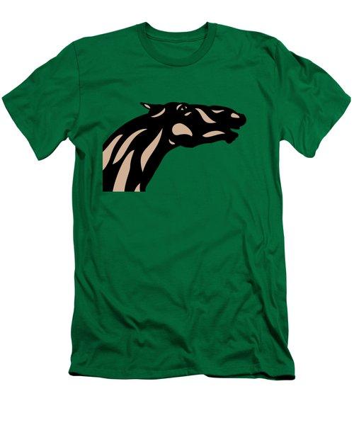 Fred - Pop Art Horse - Black, Hazelnut, Emerald Men's T-Shirt (Athletic Fit)