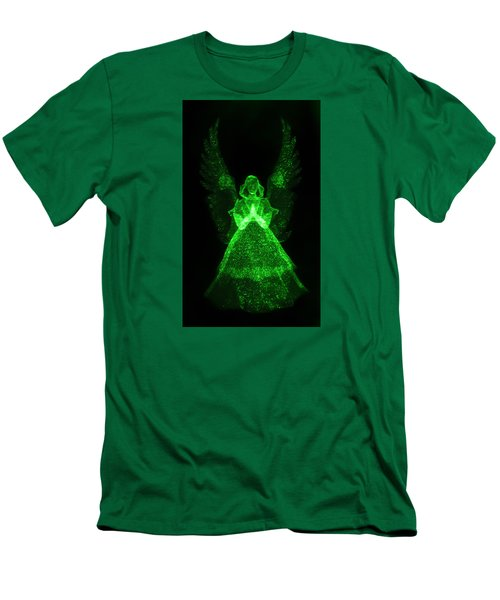 Green Angel Men's T-Shirt (Athletic Fit)