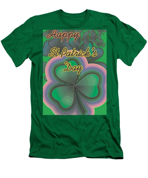 Happy St. Patrick's Day Men's T-Shirt (Athletic Fit)
