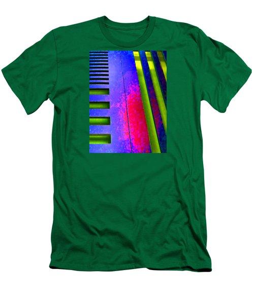 Hit And Miss - 1 Men's T-Shirt (Slim Fit) by Robert J Sadler