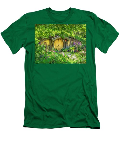 Hobbit Cottage Men's T-Shirt (Athletic Fit)