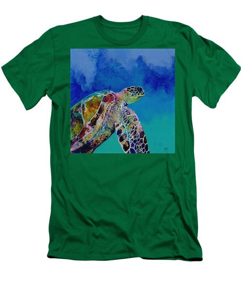 Honu 7 Men's T-Shirt (Athletic Fit)