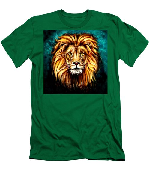 In Honor Of Cecil Men's T-Shirt (Slim Fit) by Karen Showell