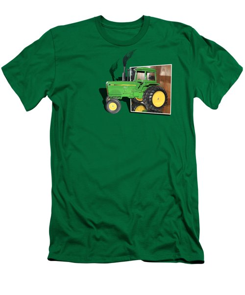 Men's T-Shirt (Slim Fit) featuring the photograph Into The Fields by Shane Bechler