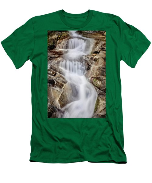 Ivory And Bronze  Men's T-Shirt (Slim Fit) by Az Jackson